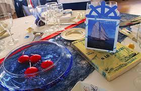 décoration theme mer pour mariage et bapteme déco table mer pas cher