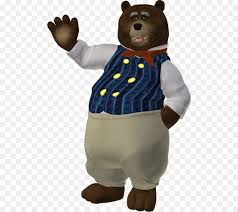 Goldilocks And The Three Bears Brown Bear Clip Art