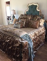 Rich Warm Chocolate Browns Luxury Bedding By Reilly Chance Collection
