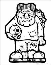 129 Best Coloring Pages Halloween Images On Pinterest