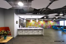 100 Exposed Ceiling Design Office Break Area Ceiling Clouds Accent Wall Accent