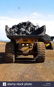 100 Rock Trucks Manganese Mining And Processing Large Ore Rocks Being Transported