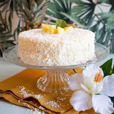 low carb kokos ananas torte torten kuchen rezepte