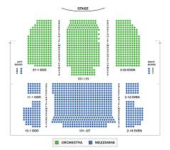 Neil Simon Theatre Broadway Seating Charts