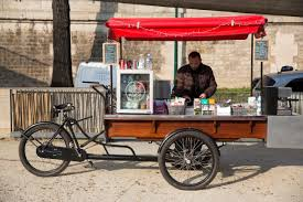 triporteur cuisine tartines en seine food sur les quais de seine bons plans