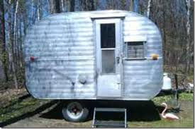 By RetroRuth There Is An Adorable Vintage Canned Ham Travel Trailer Right Now For Sale On My Local Michigan Craigslist