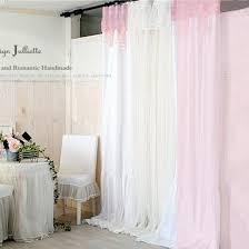 White Lace Curtains Target by Aria Pom Pom Valance White Lace Curtains Attached Valance Black