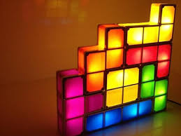 Tetris Stackable Led Desk Light by Stackable Tetris Led Desk Lamp Getdatgadget