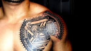 Drew Samoan Tribal Chest Plate By Skufius