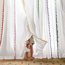 Plum And Bow Pom Pom Curtains by Maize French Tassel Window Panel Serena U0026 Lily For The Girls