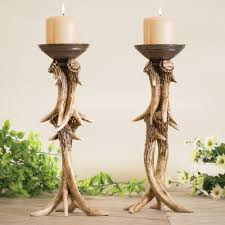Deer Antler Curtain Holders by Antler Decor U0026 Accessories From Black Forest Decor