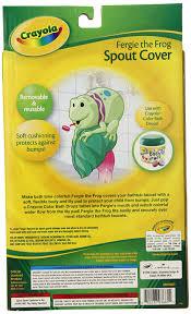 Crayola Bathtub Crayons Ingredients by Amazon Com Crayola Fergie Spout Guard Skin Care Bathing