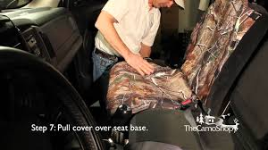 Universal Neoprene Seat Cover Installation - YouTube