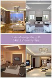groartig deckengestaltung wohnzimmer modern 86 fr dein ideen