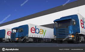 Freight Semi Trucks With EBay Inc. Logo Loading Or Unloading At ... Ebay Peterbilt Trucks 1984 359 Custom Toter Truck 1977 Gmc Sierra 35 Dump For Sale On Ebay Youtube James Speorl Frederick Marylands Most Teresting Flickr Photos Ebay Ebay Stock Price Financials And News Fortune 500 1 64 Diecast Tractor Trailer Scam Digger Excavator Recovery Truck Tipper Van 11 Vehicles In Classic Commercial Accsories Tow Used For Sale On Coast Cities Equipment Sales Austin Vintage Lorry Old Pinterest Vintage Cars Diesel Laptops From Selling To Making 20myear Starter 8pc Ledglow Truck Bed White Led Lighting Light Kit Chevy Dodge