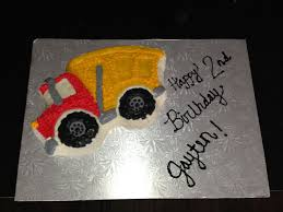 Jaytens 2nd Birthday Cake! Made With Wilton's Dump Truck Cake Pan ... Monster Truck How To Make The Truck Part 2 Of 3 Jessica Harris Wilton Fire Cake Pan Directions Cakes Cookies Dump Cake Recipe Taste Home Beki Cooks Blog Make A Firetruck Pan Molds Grave Digger My Style Grande Me Gallery September Birthday Quasi Renaissance Man School Natalie Bulldozer With Kitkats Dumptruck Whats Cooking On Planet Byn Wilton Pans Pinterest Fire Trails Tutorial Big Blue