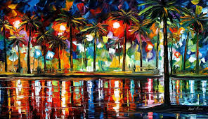 Leonid Afremov Oil On Canvas Palette Knife Buy Original Paintings Art Famous Artist Biography Official Page Online Gallery Large Artwork Fine