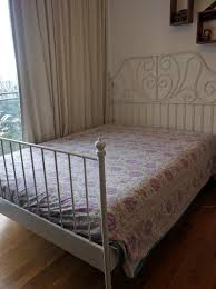 leirvik bed frame ikea leirvik bed frame and hovak pocket mattress firm