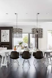 modernes esszimmer in schwarz weiß mit bild kaufen