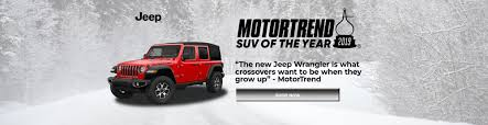 2019 Jeep Wrangler SUV Of The Year | Santa Monica Chrysler Jeep ...