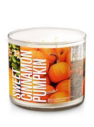 Pumpkin Waffle Candle by Sweet Cinnamon Pumpkin 3 Wick Candle Bath U0026 Body Works