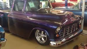 Must See Custom 1955 Chevy 3100 Stepside Show Truck - YouTube 1955 Chevy 3100 Big Red Cpp 400 Power Steering Box Kit For 195559 Pickup Trifive Scotts Hotrods 51959 Gmc Truck Chassis Sctshotrods Chevy Truck Chevrolet Dash Interiors 55 Stepside Lingenfelters 21st Century Classic Truckin Second Series Chevygmc Brothers Parts Sweet Dream Hot Rod Network Ls1 Youtube Must See Custom Show