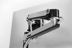 Vesa Desk Mount Arm by Ergotron 45 295 026 Lx Desk Mount Lcd Monitor Arm Tall Pole
