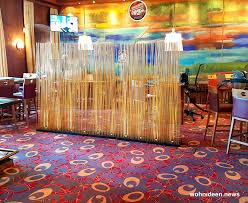 bambus büro sichtschutz gastronomie wohnideen
