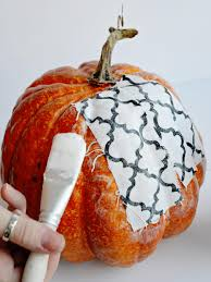 Artificial Carvable Pumpkins by Trendy Fabric Covered Pumpkins Hgtv