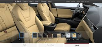 100 Semi Truck Seats Are The New Premium In The Tesla Model S P100D Ventilated