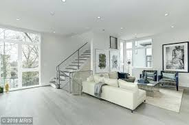 Gray Laminate Flooring 2 Tags Contemporary Living Room With Hardwood Floors High Ceiling Carpet Sparkling Frost
