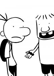 Diary Wimpy Kid Coloring Pages