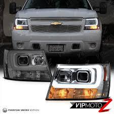 100 Chevy Truck Headlights 20072014 Suburban Tahoe Avalanche TRON STYLE LED Neon Tube