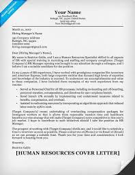 human resources cover letter writing sle resume companion