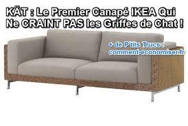 comment eviter les griffes de sur canape kät le premier canapé ikea qui ne craint pas les griffes de