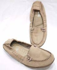 hush puppies ceil slip on mt moc leather loafer 8 ebay