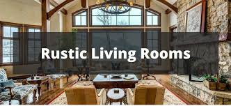 75 Rustic Living Room Ideas For 2018