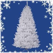 White Christmas Tree Image