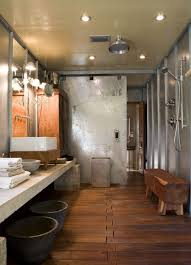 Bathrooms Design : Amazing Rustic Bathroom Designs With Modern ... Rustic Ranch Style House Living Room Design With High Ceiling Wood Diy Reclaimed Barn Accent Wall Brown Natural Mixed Width How To Fake A Plank Let It Tell A Story In Your Home 15 And Pallet Fireplace Surrounds Renovate Your Interior Home Design With Best Modern Barn Wood 25 Awesome Bedrooms Walls Chicago Community Gallery Talie Jane Interiors What To Know About Using Decorations Interior Door Ideas Photos Architectural Digest Smart Paneling 3d Gray