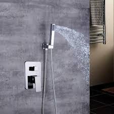 unterputz duschsystem duschkopf handbrause duscharmatur badezimmer duschset bad kopfbrause handbraus mit thermostat