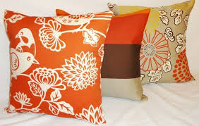 Orange Decorative Pillows Accent Pillow Coral – icedteafairyub