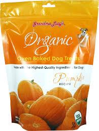 Pumpkin Causes Dog Diarrhea by Grandma Lucy U0027s Organic Pumpkin Oven Baked Dog Treats 14 Oz Bag