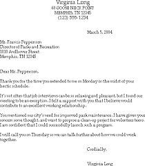 Sample Thank You Letter After a Job Interview Susan Ireland Resumes
