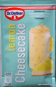 dr oetker creme crunch dessert lemon cheesecake 83g