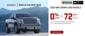 100 Chevy Gmc Trucks Bosak Chevrolet Buick GMC In Michigan City Your Chevrolet