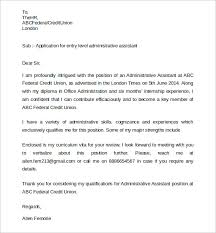 cover letter for office assistant sample administrative assistant