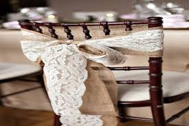 Wedding Chair Decoration Ideas Weddings Romantique