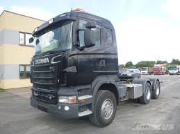 Used Scania -r620-6x4-euro5-hydraulic-retarder Tractor Units Year ...