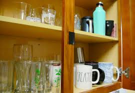 Magnetic Locks For Glass Cabinets by Use This Hack To Keep Your Cabinet Doors Shut Cnet