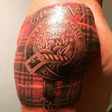 Scottish Tartan Tattoo
